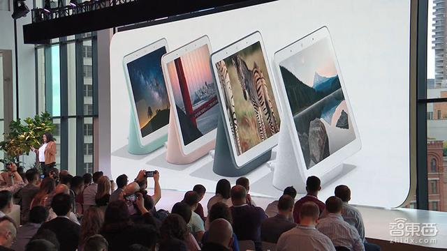 谷歌昨夜甩出5款硬件 带屏智能音箱来了