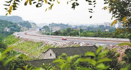 重庆:北碚云汉大道全线建成通车