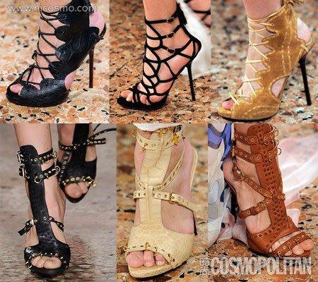 2010春夏鞋子流行趋势