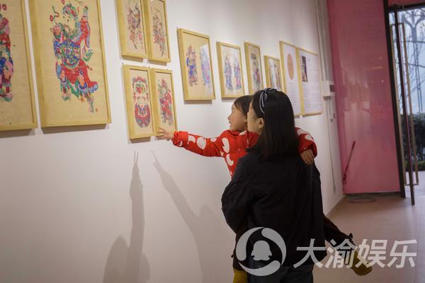 """看年画展逛艺术市集 到南滨路""""艺""""起过新年"""