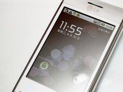 时尚Android新机 LG GT540
