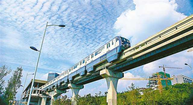 轨交3号线整体国产化率达95% 创下了多项世界第一