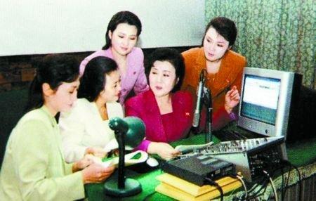 朝鲜女主播频繁换发型