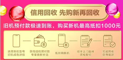 双十二苏宁把旧手机玩出新花样,凭信用回收!家里有旧手机的注意了!快去苏宁高价回收