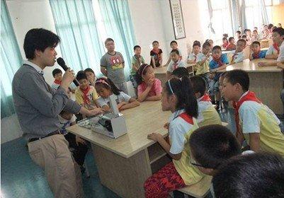 夏普开展小学环境教育活动 参与总数突破1万人