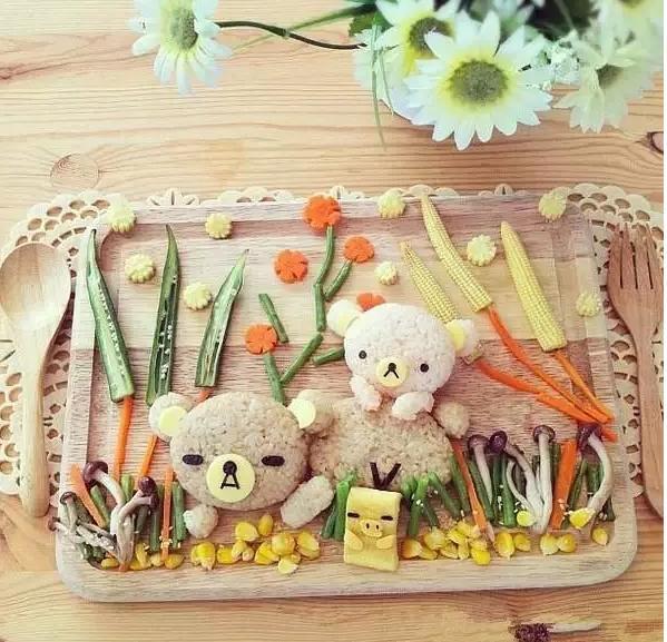 有些家长喜欢早餐给小朋友做米饭,不妨尝试多做花样,这样小朋友都会大图片