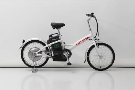 """重庆摩博会本田推首款电动自行车""""酷士""""图片"""