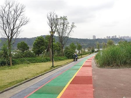 巴滨路建成我市首条滨江自行车道 本周六开放