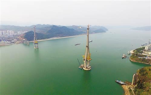 丰都长江二桥预计今年底建成通车