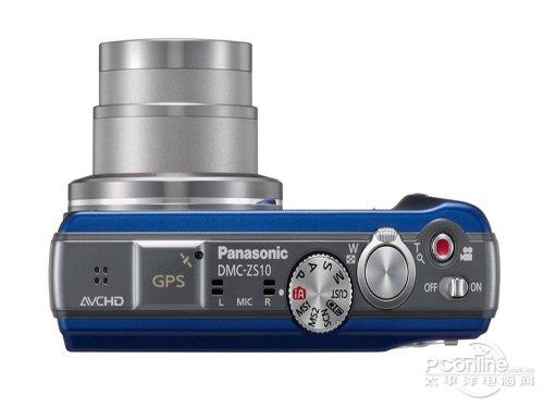 支持3D+GPS 松下ZS10高清相机