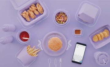 中国外卖行业一年消耗数亿餐盒