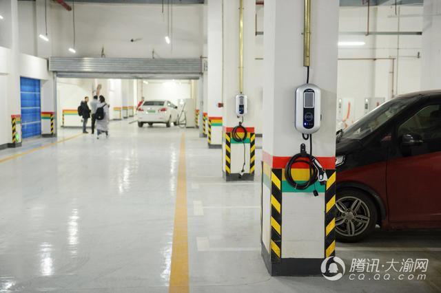 重庆投用主城最大综合充电站 50台车可同时充电