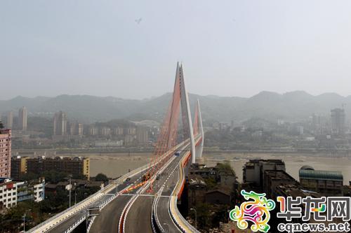 东水门长江大桥通车时间确定:31日零时通车