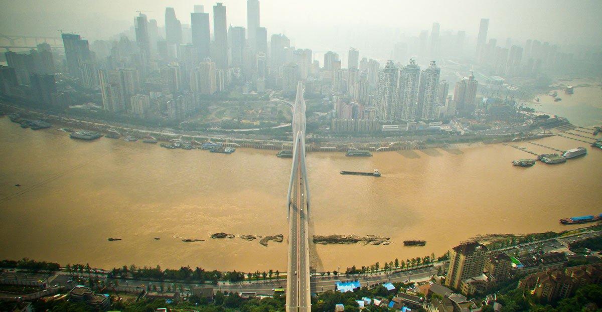"""""""上帝视角""""看桥都 你从未与看过的重庆美景"""