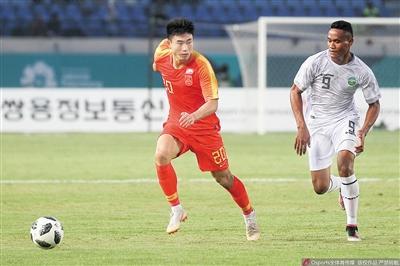 雅加达亚运会U23国足6:0大胜东帝汶 两重庆崽