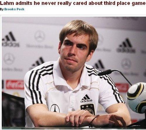 拉姆称季军之争无乐趣 比赛结束德国集体撤离