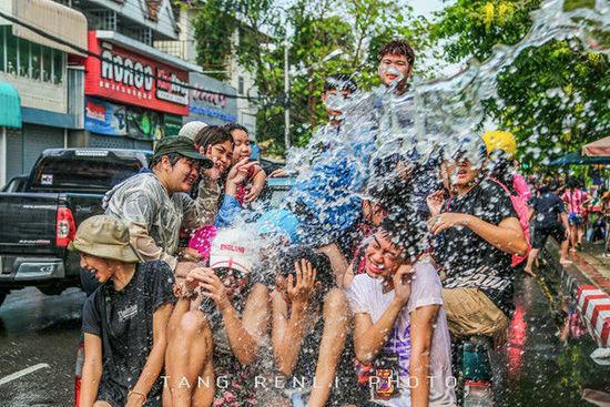 【泰疯狂】去泰国,最好赶在泼水节!