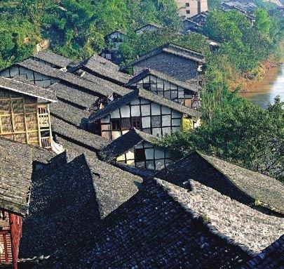 忘不掉的山城老时光 重庆最美古镇磁器口图片