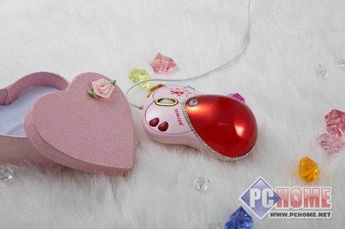 甜蜜五月 送给心爱的她最浪漫的鼠标