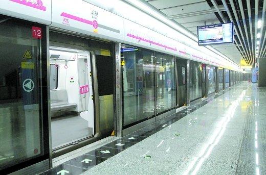 明天一早 重庆市民可以坐地铁去北碚了