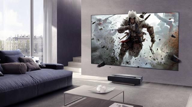 无屏电视受年轻人欢迎 比常规电视便宜很多