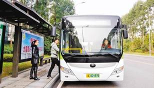 璧山高新区:定制公交线路缓解出行难