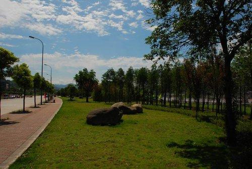 走进万州江南新区高清图片