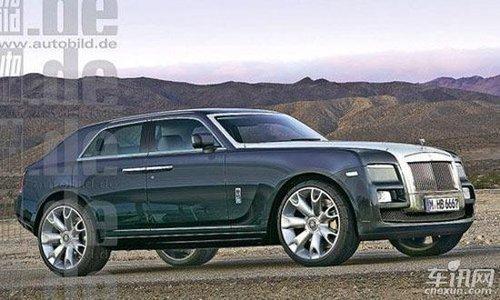 劳斯莱斯SUV假想图 进军豪华SUV细分市场