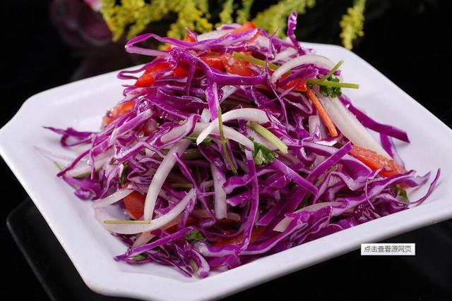吃紫甘蓝苗,坏胆固醇低