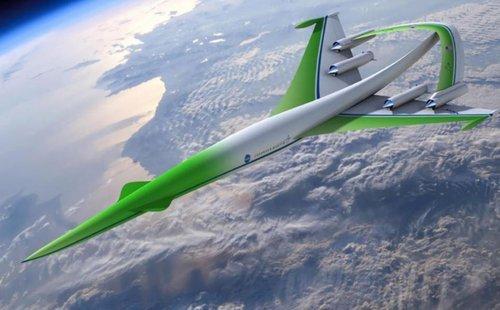 美航天局设计绿色超音速飞机 可有效减少音爆