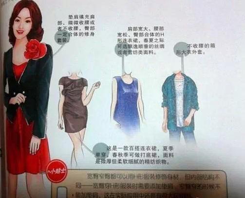 宽臀体型美女:8大穿衣建议