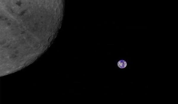 中国大学生拍下月球背面照片