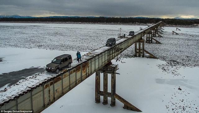 世界最危险的桥:俄康丁斯基桥