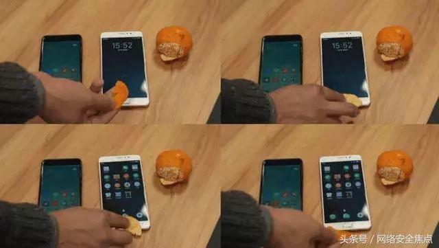 橘皮秒破手机指纹锁 这是史上最大的漏洞