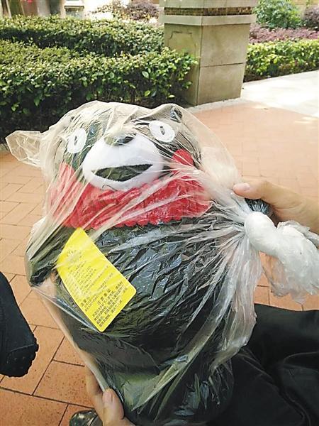 男子花900元网购宠物狗 收到的竟是一只玩具熊