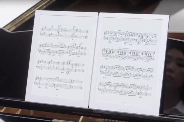 用了原生电子乐谱 我差点改行做音乐家了