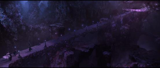 武隆天坑现大紫明宫 影版《三生三世》情节让人心碎