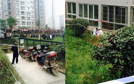 [网友报料]网曝涪陵某小区有人跳楼