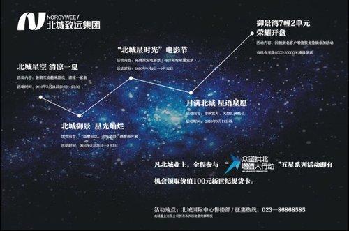 """北城国际中心""""北城星时光""""电影节9·4绚烂开启"""