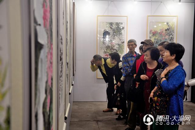 沙坪坝文化馆国画班优秀作品展开展 将持续到10月15日