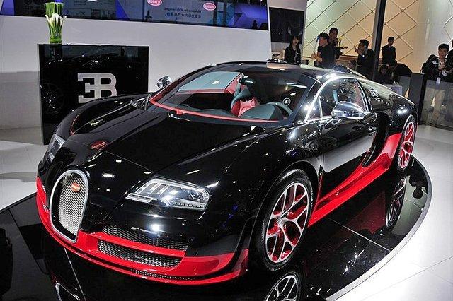 2013广州车展十大豪车盘点 售价总额过亿