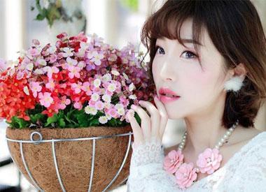 画玫瑰粉晶婚礼妆超美哟