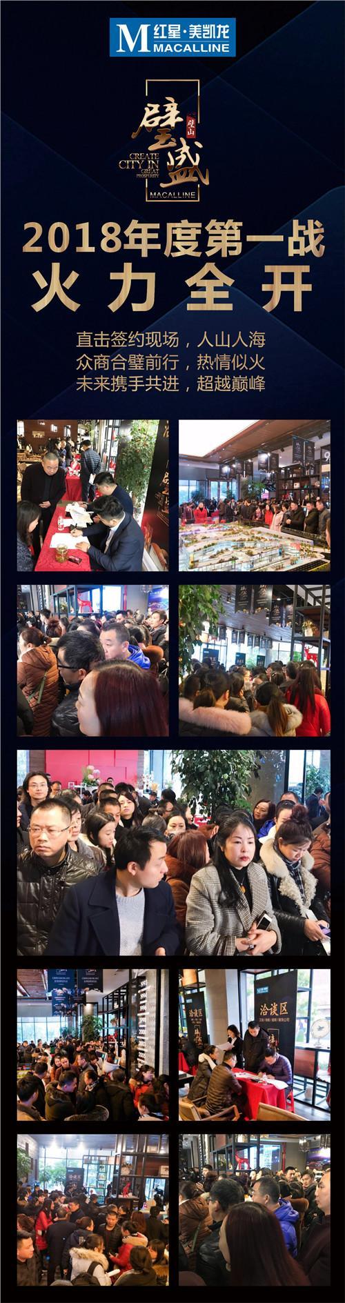 红星美凯龙重庆璧山商场 全球招商发布会圆满举行