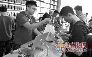 iPhone5昨开售 重庆拿现货要8500元