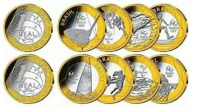这批奥运纪念币由巴西中央银行、2016年里约奥运和残奥运组委会发行, 是巴西法定货币。共分为四组,每组4枚,共16枚,在中国发行45万套。