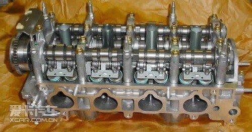本田k20z3发动机中的i-vtec系统图片