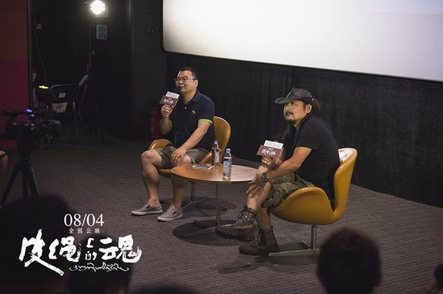 导演张杨携《皮绳上的魂》来渝 感谢重庆观众