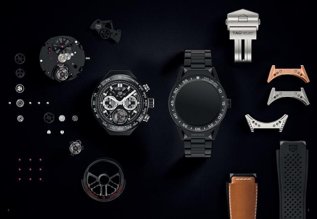 泰格豪雅 CONNECTED MODULAR 45智能腕表中国版