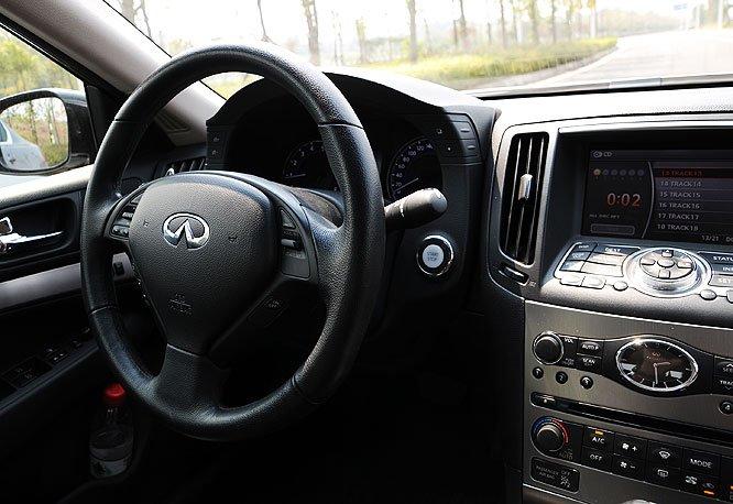勇往直前 只因流淌着GTR的血液 大渝汽车试驾英菲尼迪G37 Sedan