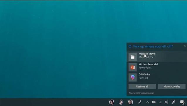 Win10秋季更新的七大新功能 可跨平台剪切